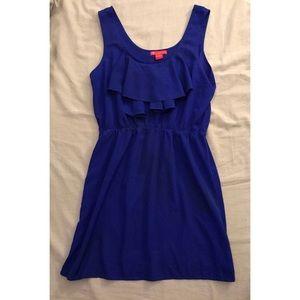 Ruffle Sleeveless Dress